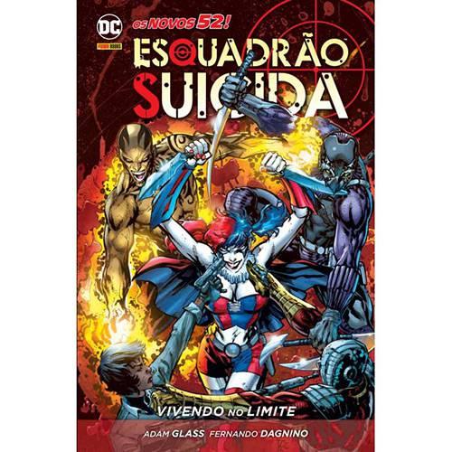 Livro - Esquadrão Suicida: Vivendo no Limite