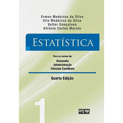 Livro - Estatística - para os Cursos de Economia, Administração e Ciências Contábeis - Vol. 1