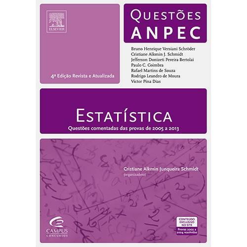 Livro - Estatística: Questões ANPEC