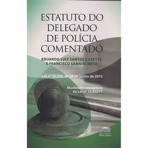 Livro - Estatuto do Delegado de Policia Comentado
