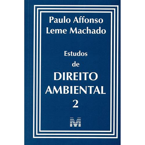 Livro - Estudos de Direito Ambiental 2