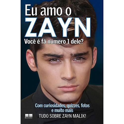 Livro - eu Amo o Zayn - Coleção eu Amo One Direction