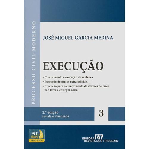 Livro - Execução Vol. 3 - Processo Civil Moderno