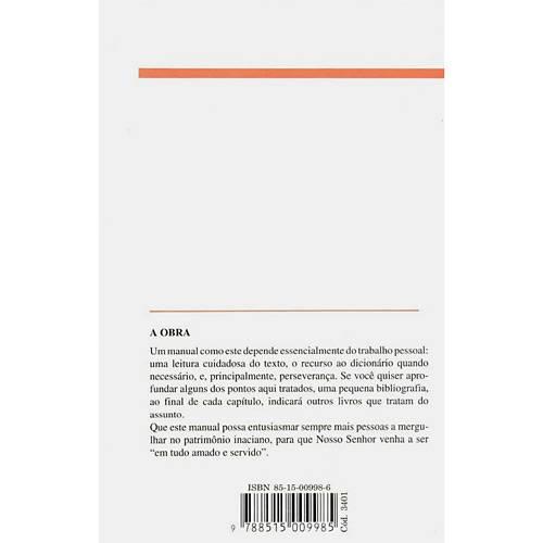 Livro - Exercícios Espirituais de Santo Inácio de Loyola