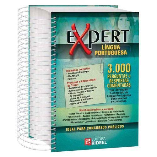 Livro Expert Língua Portuguesa 3.000 Perguntas e Respostas