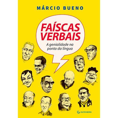 Livro - Faíscas Verbais: a Genialidade na Ponta da Língua