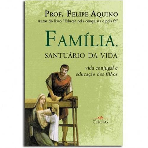 Livro Familia Santuario de Vida