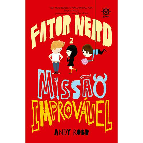 Livro - Fator Nerd 2: Missão Improvável