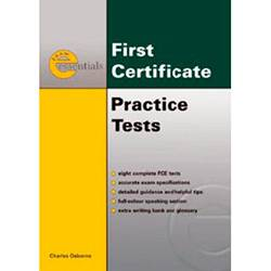 Livro - First Certificate Practice Tests With Key
