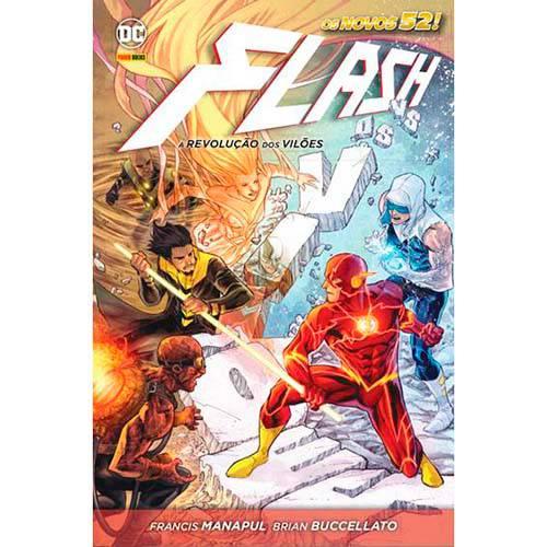 Livro - Flash: a Revolução dos Vilões