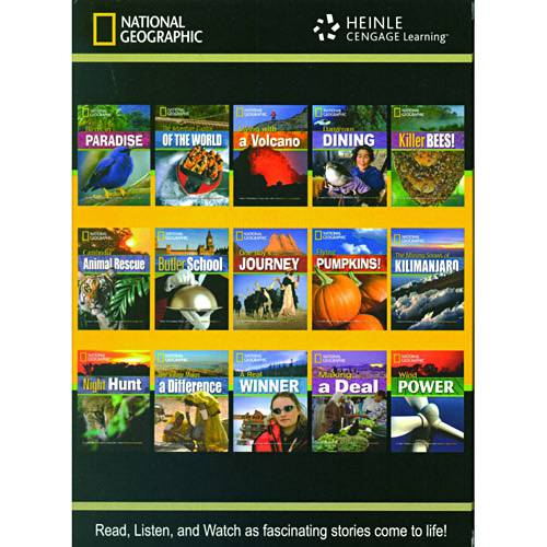 Livro - Footprint Reading Library - NatGeo Collection Box 3 - Read, Listen And Watch as Fascinating Stories Come To Life!