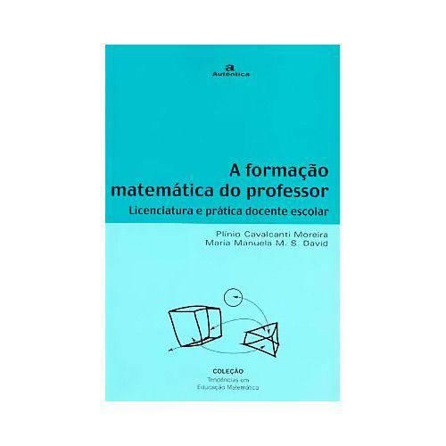 Livro - Formação Matemática do Professor, a