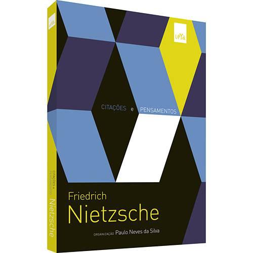 Livro - Friedrich Nietzsche - Citações e Pensamentos