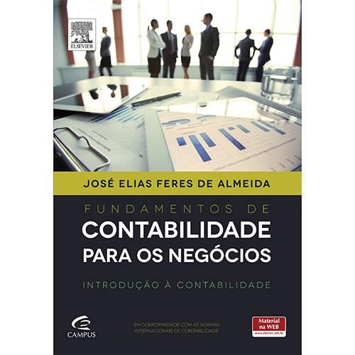 Livro - Fundamentos de Contabilidade para os Negócios