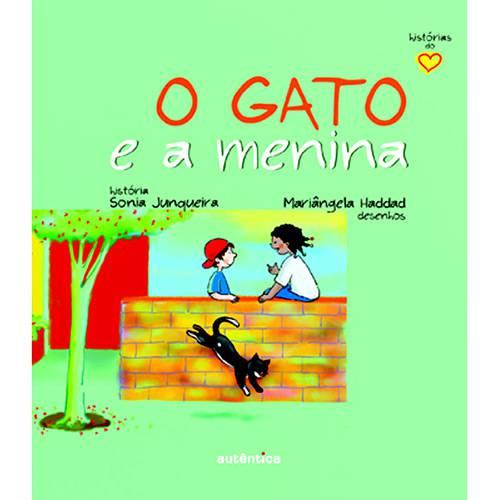 Livro - Gato e a Menina, o