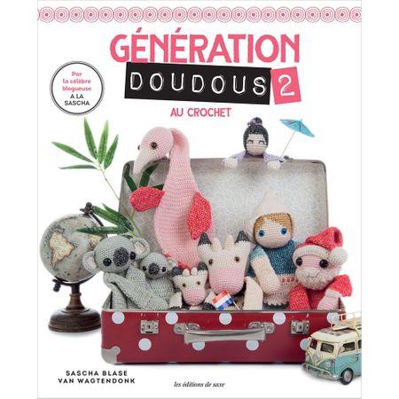 Livro Génération Doudous 2 Amigurumis Au Crochet (Bichinhos para Dormir 2)