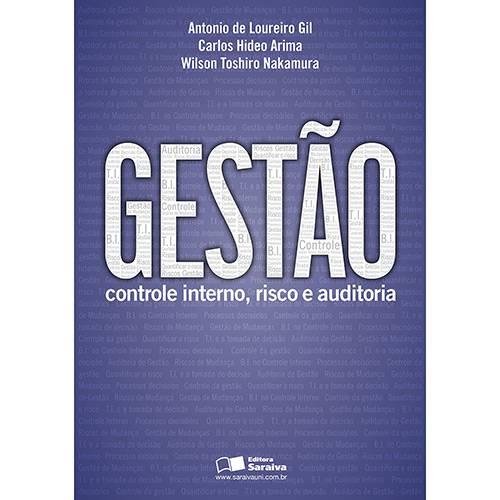 Livro - Gestão: Controle Interno, Risco e Auditoria