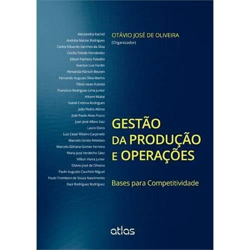 Livro - Gestão da Produção e Operações: Bases para Competitividade