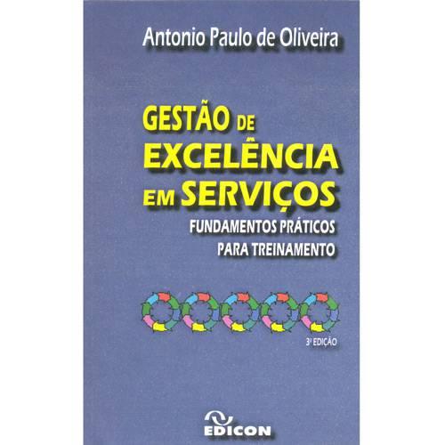 Livro - Gestão de Excelência em Serviços