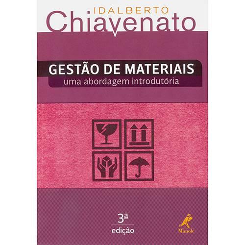 Livro - Gestão de Materiais: uma Abordagem Introdutória