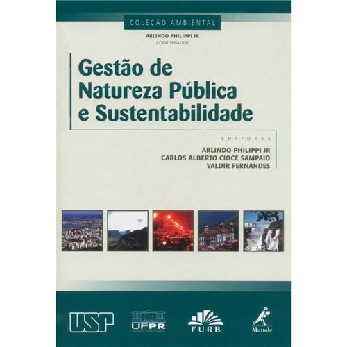 Livro - Gestão de Natureza Pública e Sustentabilidade