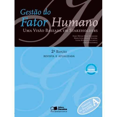 Livro - Gestão do Fator Humano: uma Visão Baseada em Stakeholders