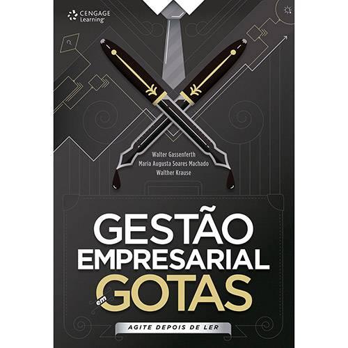 Livro - Gestão Empresarial em Gotas: Agite Depois de Ler