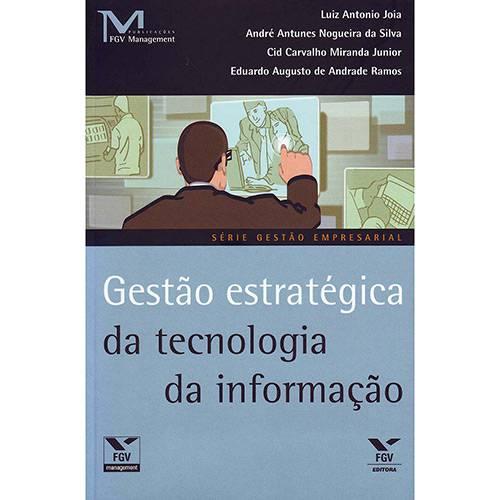 Livro - Gestão Estratégica da Tecnologia da Informação