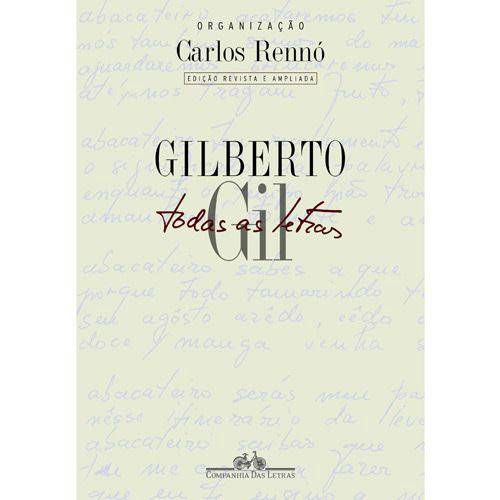 Livro - Gilberto Gil - Todas as Letras