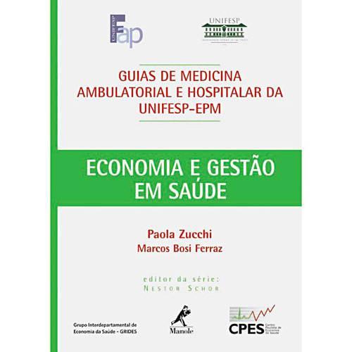 Livro - Guia de Economia e Gestão em Saúde