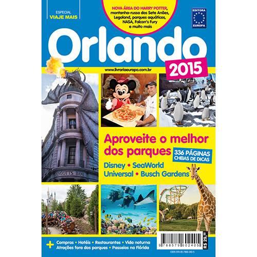Livro - Guia Orlando 2015