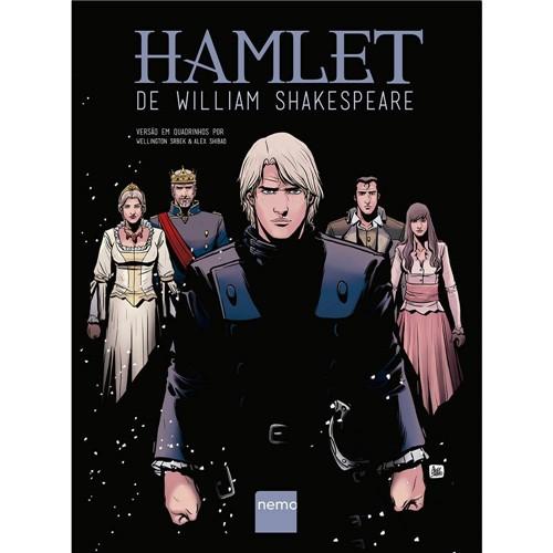 Livro - Hamlet de William Shakespeare (Versão em Quadrinhos)