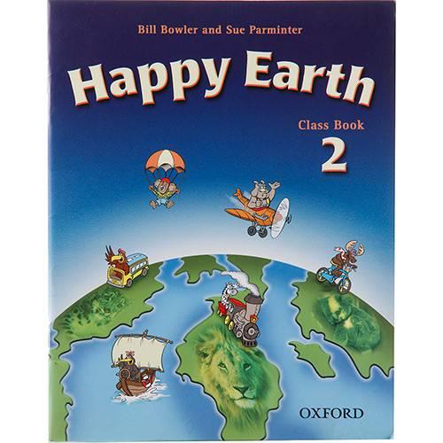 Livro - Happy Earth: Level 2 Class Book