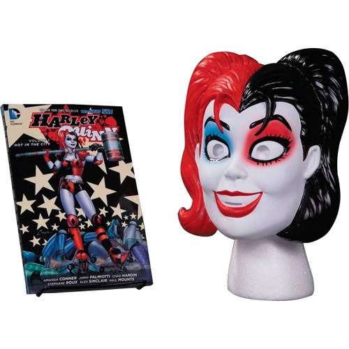 Livro - Harley Quinn Book & Mask Set (inglês)
