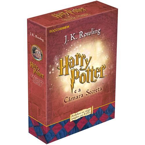 Livro - Harry Potter e a Câmara Secreta - Audiolivro