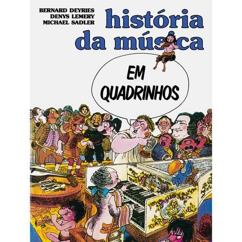 Livro - História da Música em Quadrinhos