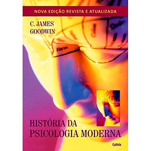 Livro - História da Psicologia Moderna