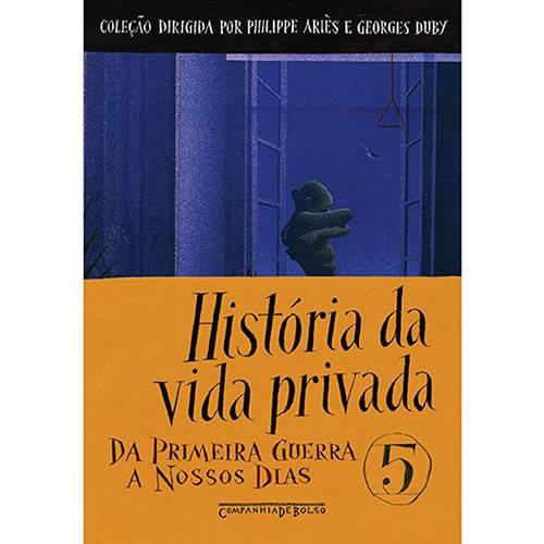 Livro - História da Vida Privada - Volume 5 - Edição de Bolso