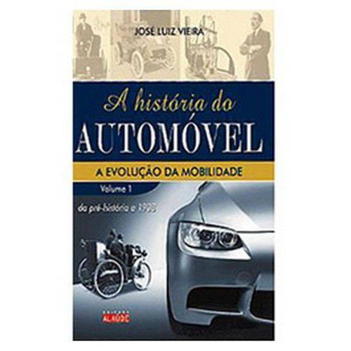 Livro - História do Automóvel, a A Evolução da Mobilidade