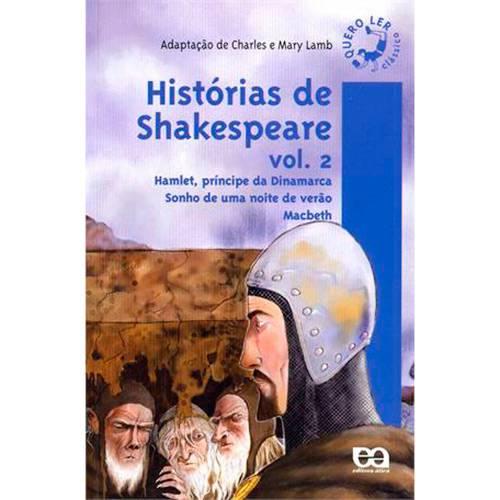Livro - Historias de Shakespeare. V.2