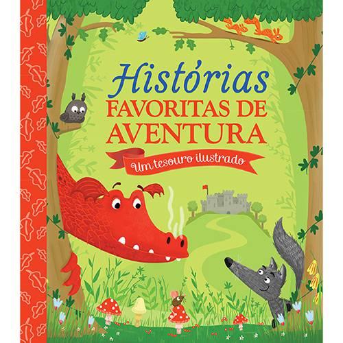 Livro - Histórias Favoritas de Aventura: um Tesouro Ilustrado