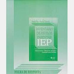 Livro - IEP: Inventário de Estilos Parentais - Folha de Resposta