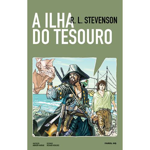 Livro - Ilha do Tesouro, a