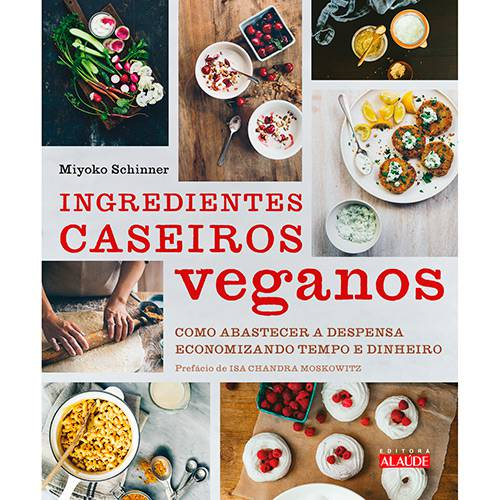 Livro - Ingredientes Caseiros Veganos