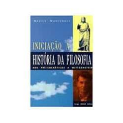 Livro - Iniciaçao a Historia da Filosofia