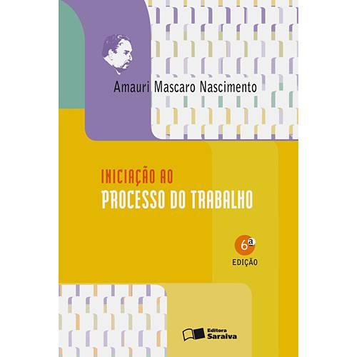 Livro - Iniciação ao Processo do Trabalho