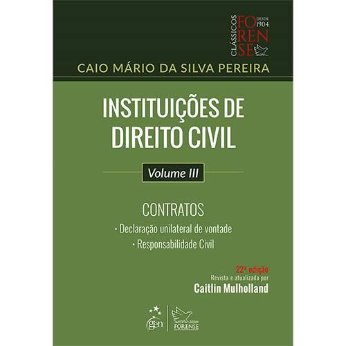 Livro - Instituições de Direito Civil -