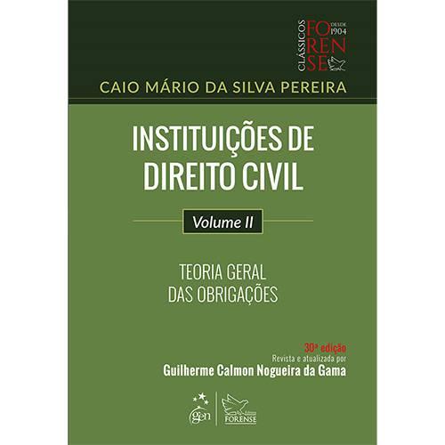 Livro - Instituições de Direito Civil