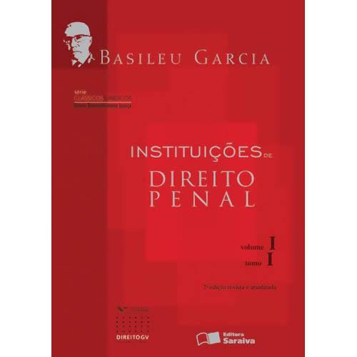 Livro - Instituições de Direito Penal - Volume 1 - Tomo 1