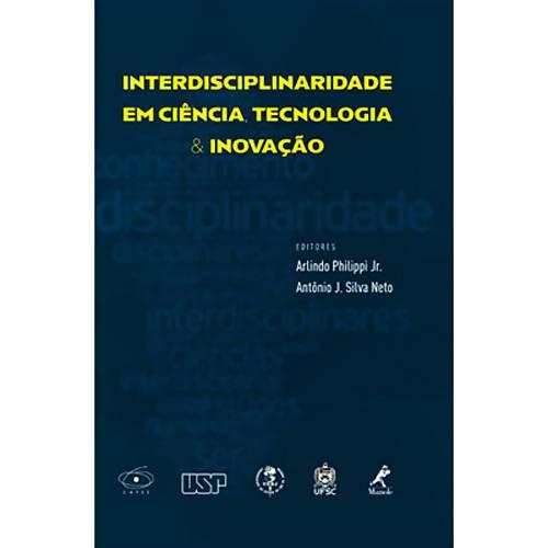 Livro - Interdisciplinaridade em Ciência, Tecnologia & Inovação